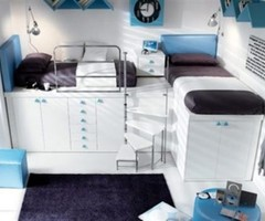 10 Elegant Loft And Bunk Beds Design For Kids And Teenager