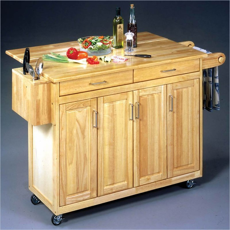Furniture Style Kitchen Islands: Home Styles Furniture Natural Kitchen Island From