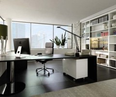 Contemporary Home Office Designs By Huelsta