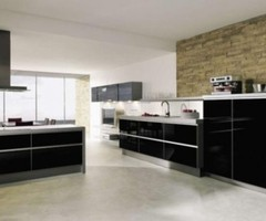 Modern Kitchen Design With Wall Tile 2