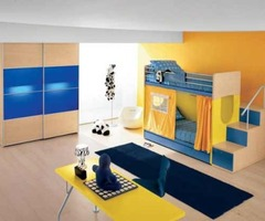 Colorful Kids Twin Bunk Bed Designs
