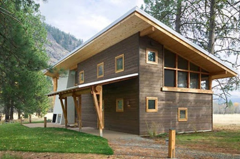 Small wooden house architecture design cabin ideas for Small wooden house design