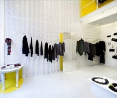 Unique Interior Design Of Clothing Store
