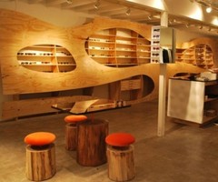Amazing Kinney Court Store Interior By Ilan Dei Studio
