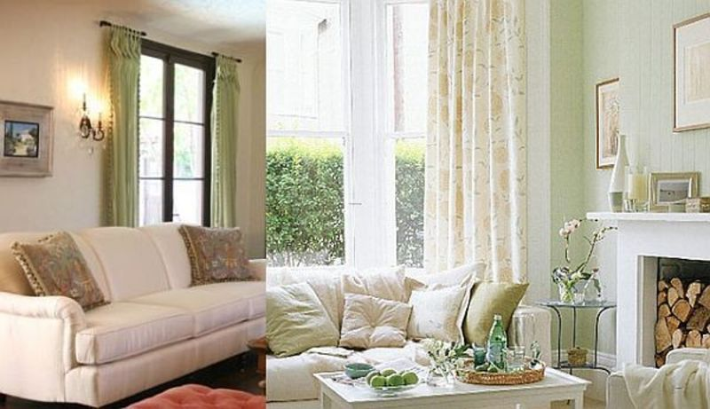 Ideas for curtains and drapes for living room design for Living room curtains and drapes ideas