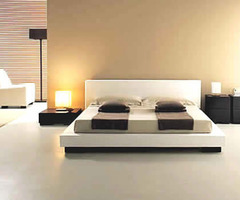 Minimalist Bedroom Interior Design With Modern Bed Style