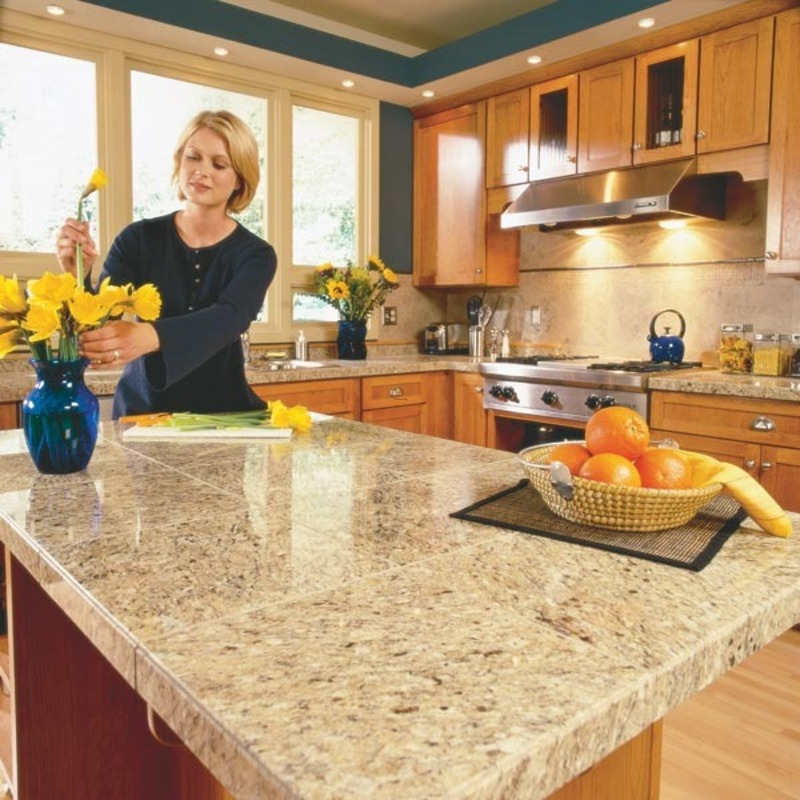 ... Countertops Kitchen, How To Install Granite Countertops (Kitchen Tile