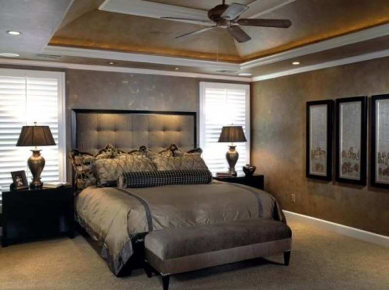 Remodel Bedroom Ideas 2017 Grasscloth Wallpaper