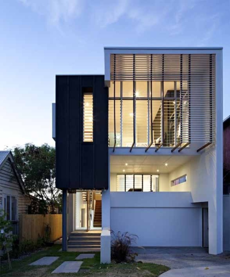 Modern Architecture Home Design: Contemporary Small House Ideas By Base Architecture