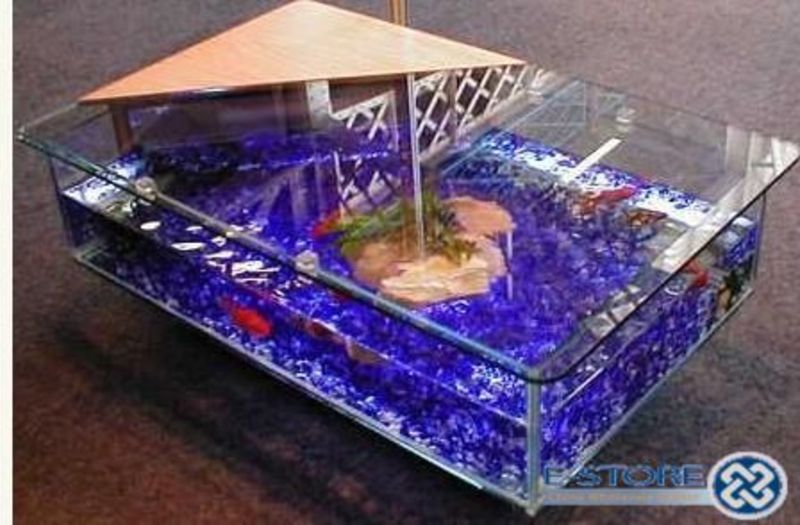 fish tank table walmart