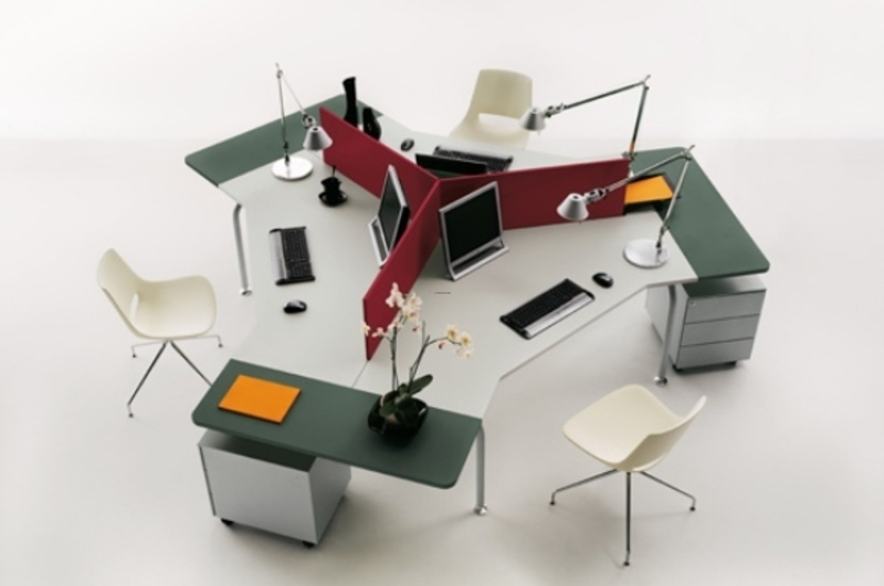 Office Modern Furniture, Modern Designs Office System For Modular Furniture