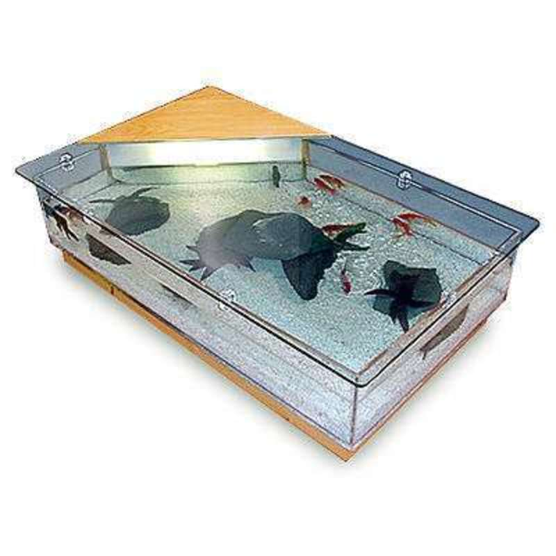 Aquarium Coffee Tables / Design Bookmark #14324