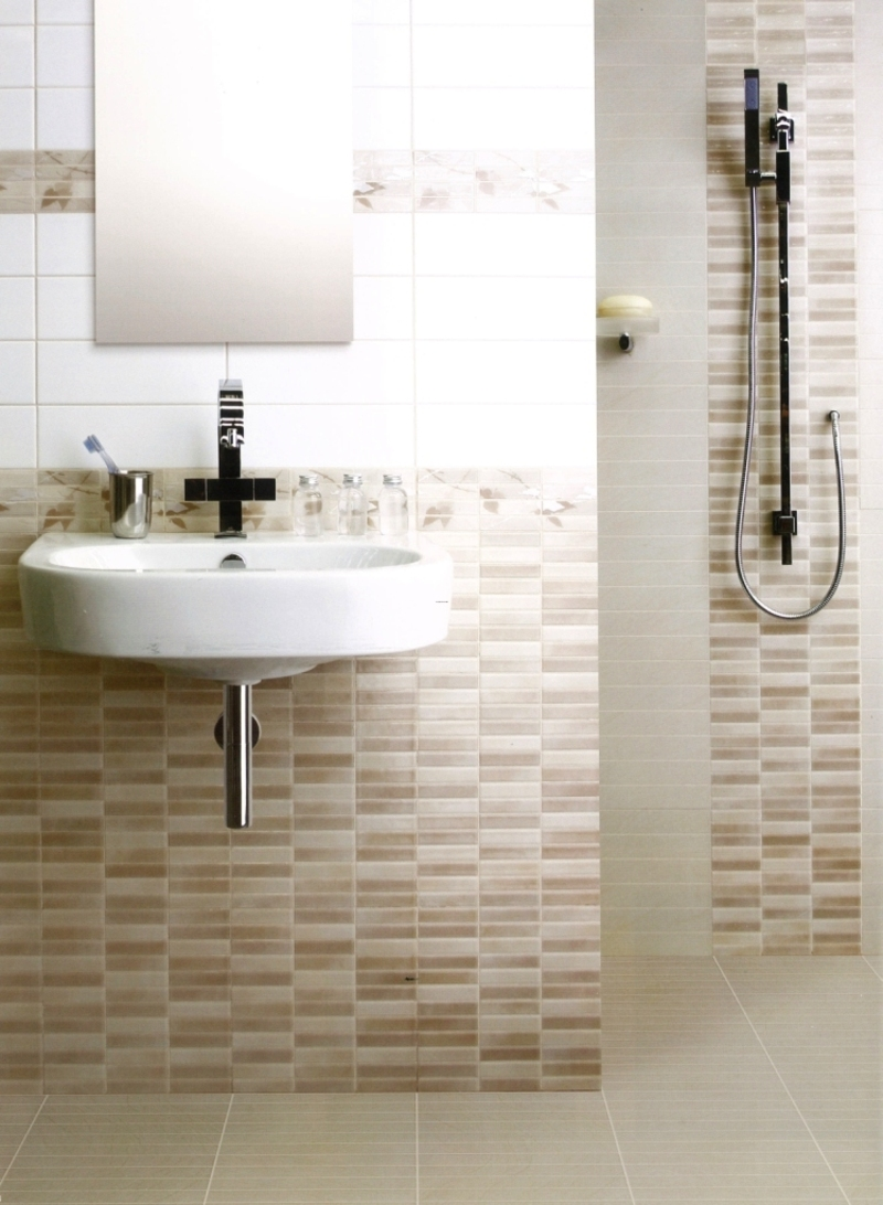 Lewiston home building blog archive modern bathroom for Tile designs for bathroom
