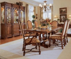 The Furniture / Carlton Manor Traditional Dining Room Set By Pulaski Free Shipping
