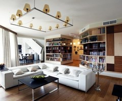 Modern Apartment Decorating Ideas By Andrey Zharnitsky Studio