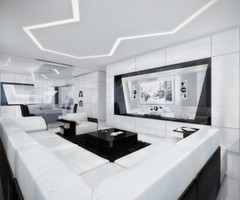 Luxury Black And White Apartment Ideas By Geometrix