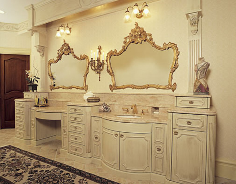 Bathroom french design bookmark 14460 French provincial bathroom vanities