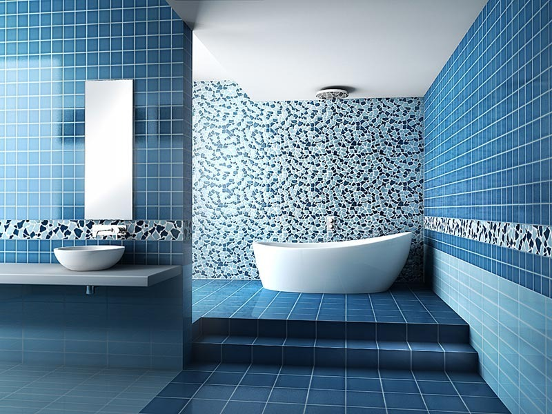 blue and brown bathroom designs brown and blue bathroom idea
