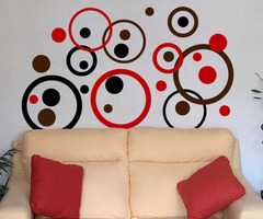 Bubble Wall Decals
