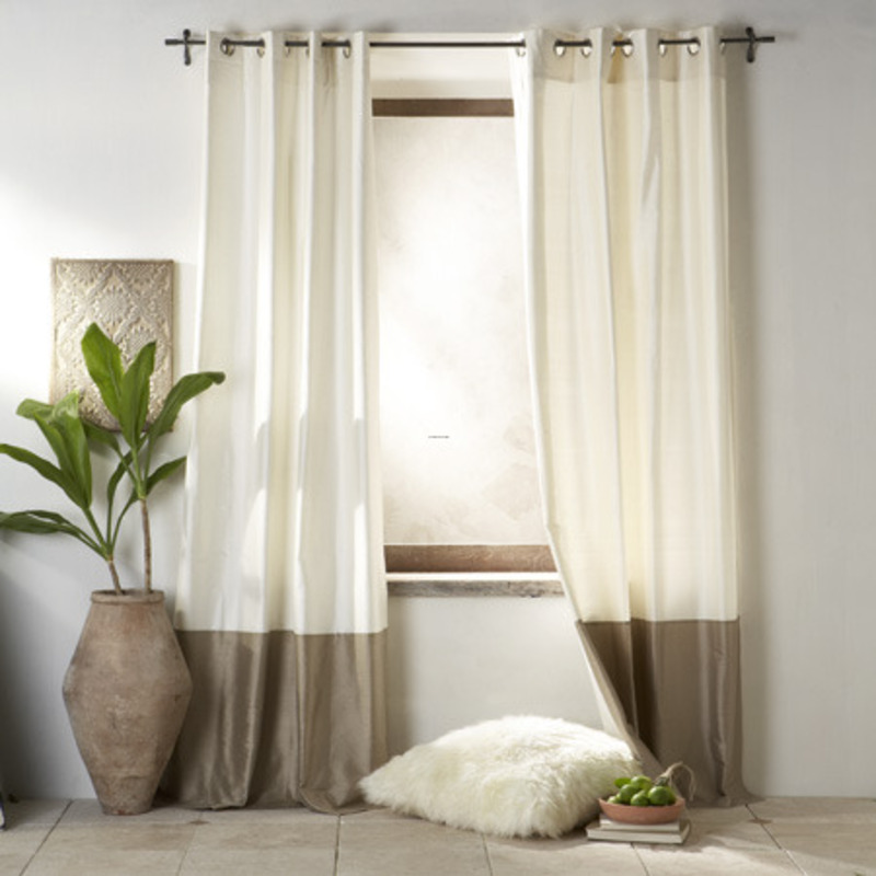 Modern curtain designs for living room interior for Curtain design for living room
