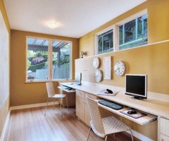 Seattle Contemporary Home Office Design, Pictures, Remodel, Decor And Ideas