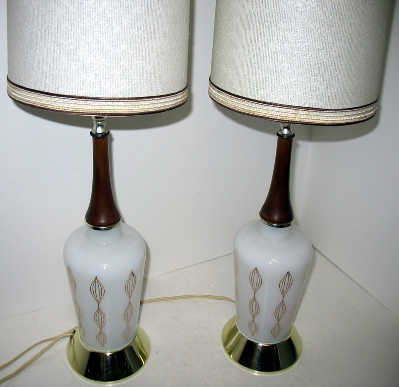 Vintage Mid Century Modern Table Lamps Bedroom By That70s Shoppe Design Bookmark 14527