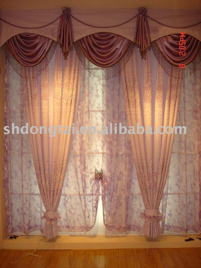 Jacquard curtain home textile living room curtain products buy jacquard curtain home textile - Living room curtains photos ...