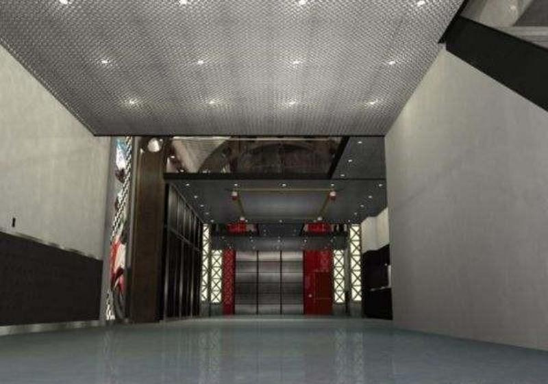 Modern garages design decorating by garage mahals interior for Garage interior design ideas