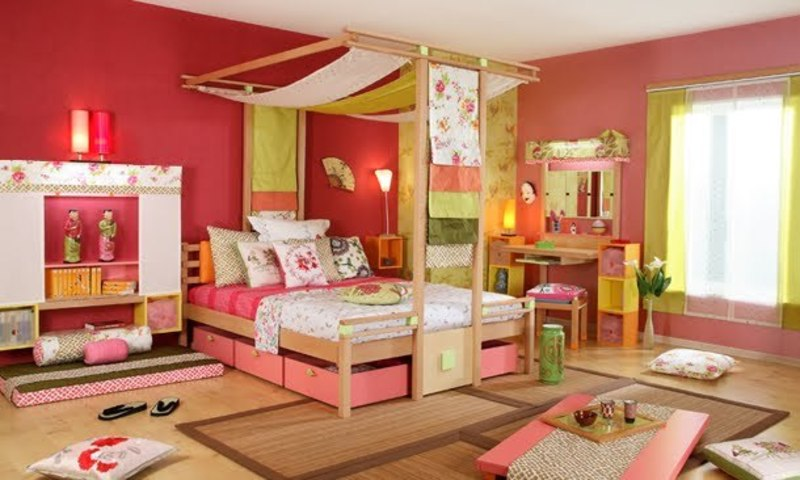 Vibel japanese style child bedroom design bookmark 14622 for Bedroom ideas japanese style