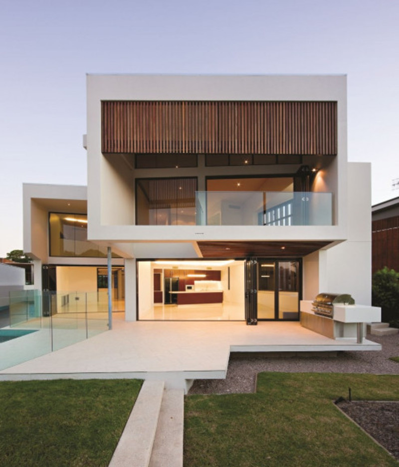 House Architecture, Minimalist Home Design: Elysium 154 House
