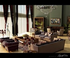 Interior Design Ideas Luxury Living Room.