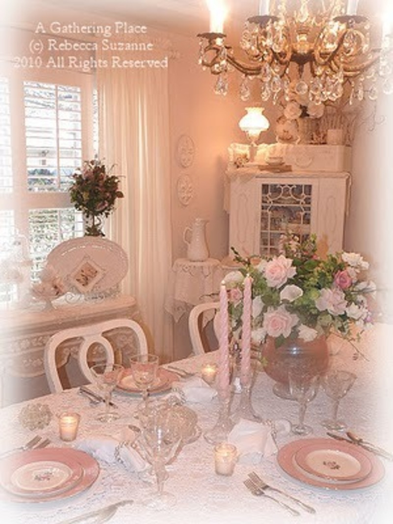 Romantic Dining Room: ~Romantic Dining Room / Design Bookmark #14664