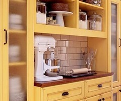 A Dash Of Sunshine Yellow Kitchen Cabinets – Hues