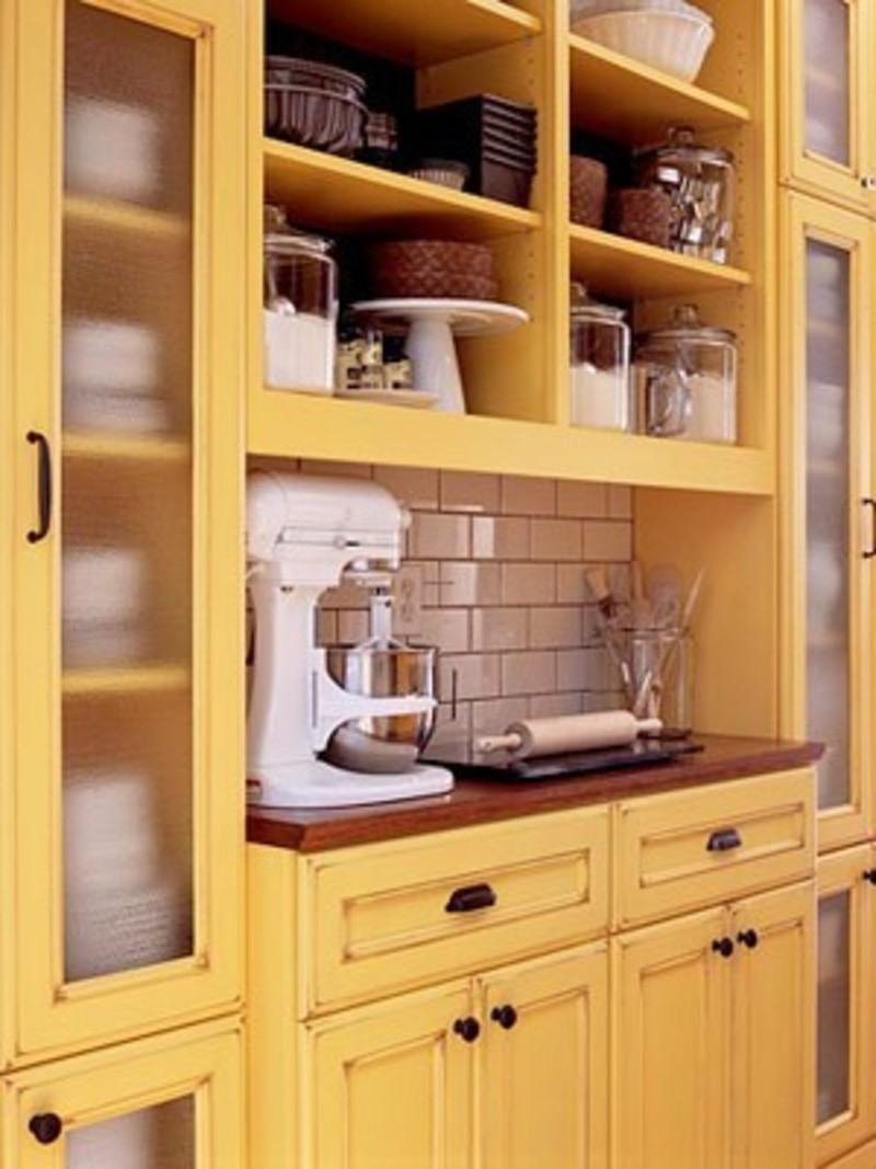a dash of sunshine yellow kitchen cabinets hues design