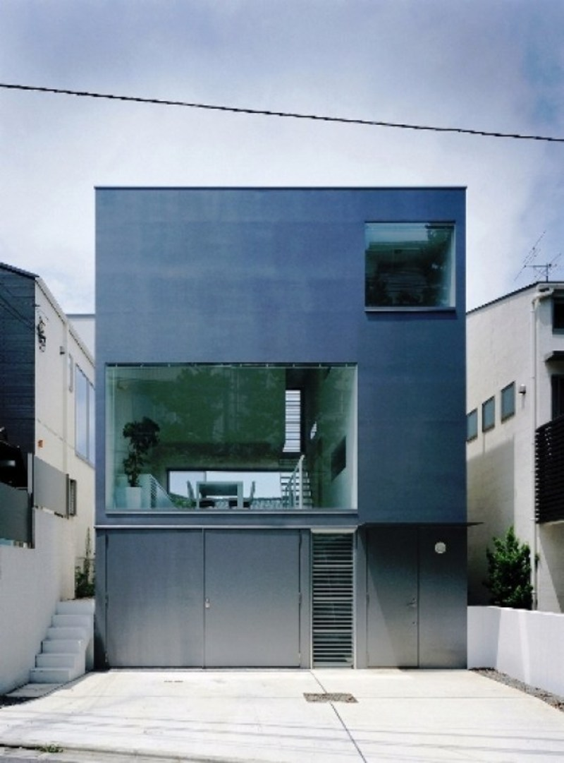 Minimalist House Architecture: Cube House, Home Minimalist Architecture Design / Design