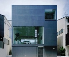 Cube House, Home Minimalist Architecture Design