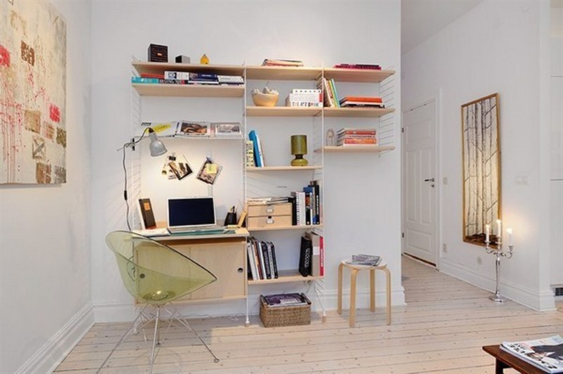 Scandinavian Home Design, 30 Scandinavian Home Desks That Encourage Work Creativity