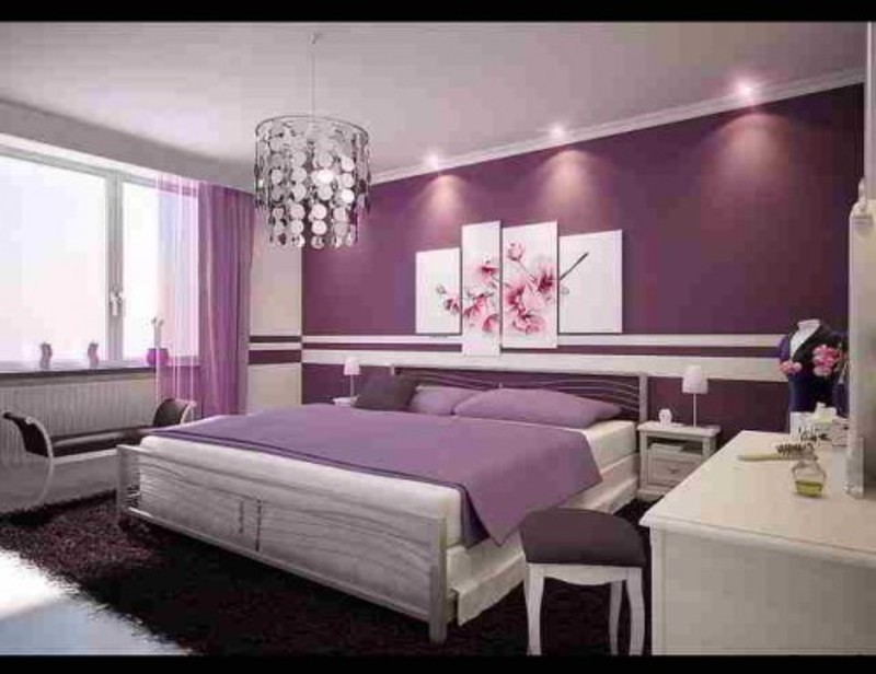 For Couples Bedroom Design Ideas For Married Couples With Purple Color  800 x 616