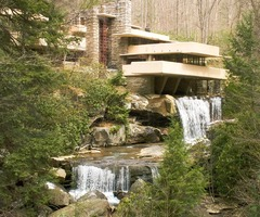 Books Of Circe: Frank Lloyd Wright's Falling Water House