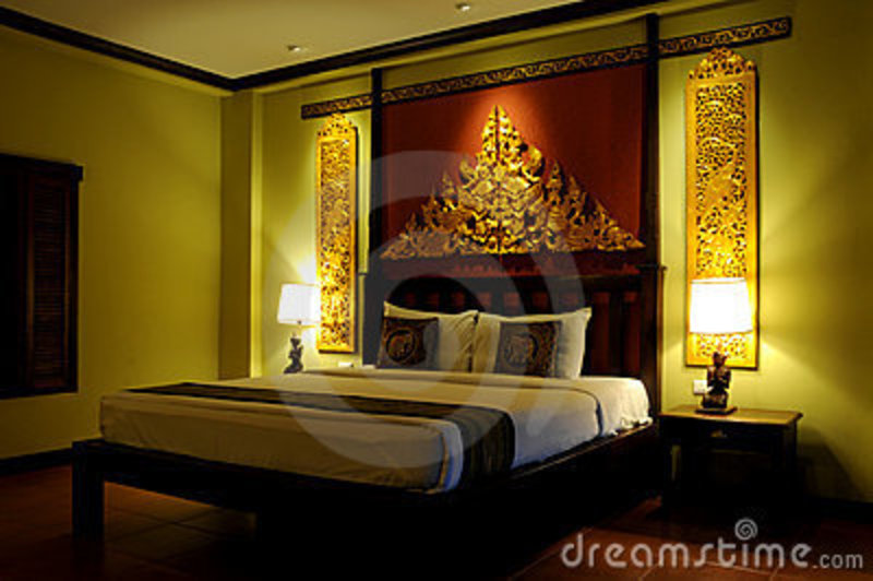 asian style bedroom royalty free stock photos fancy asian style