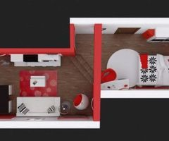Red, Black And White For Contemporary Bedroom Red, Black And White For Contemporary Bedroom 4  Modern Architecture Concept
