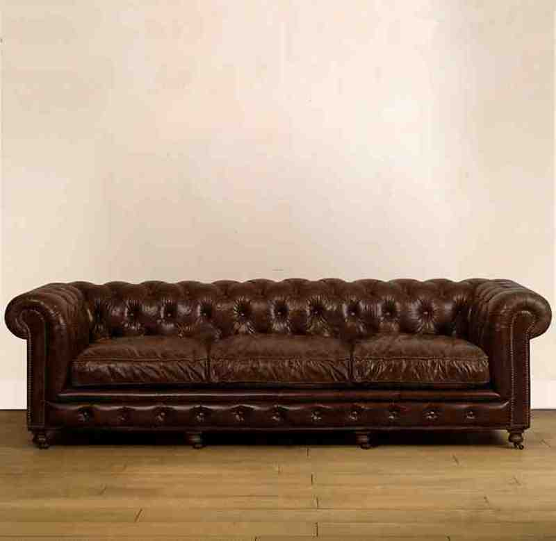 Classic Leather Sofa, Classic Super Leather Sofas By Timothy Oulton