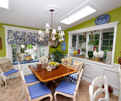 Country Dining Rooms From Judi Ackerman : Designers' Portfolio 2779 : Home