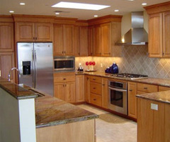 Maple Kitchen Cabinets For Your Home, Birdseye, Knotty Or Glazed