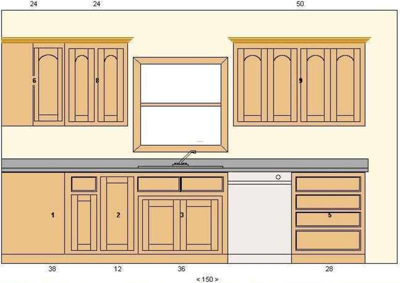 Kitchen cabinets templates best home decoration world class for Kitchen cupboard layout designs