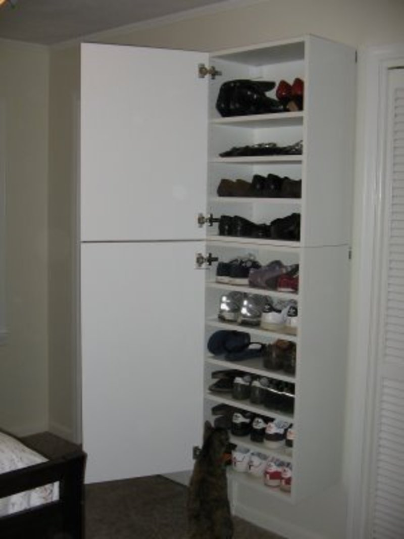 Ikea Hackers Emily S Gorgeous Shoe Storage Design
