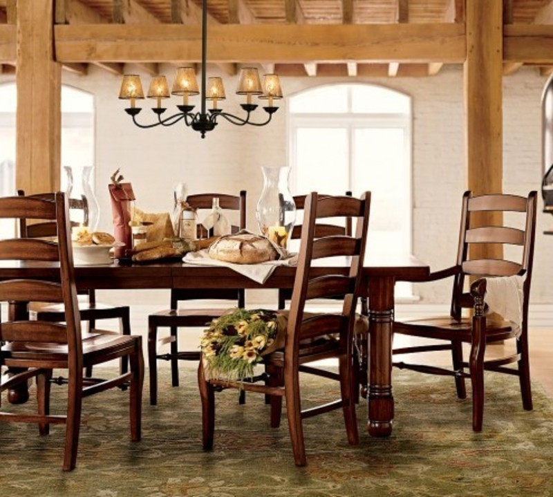 Romantic Dining Room, Romantic Dining Room Decorating Ideas By Pottery Barn « Ideas To Designing Your Dining Room By Pottery Barn