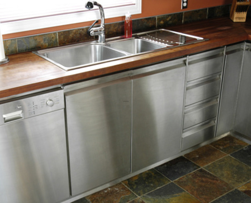 Stunning Kitchen Cabinets with Stainless Steel 800 x 646 · 115 kB · jpeg