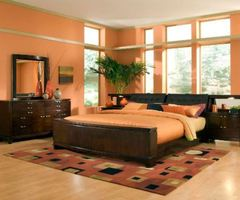 Colorful Wall In The Bedroom Ideas Orange Wall Bedroom Ideas – Home Decorating Designs