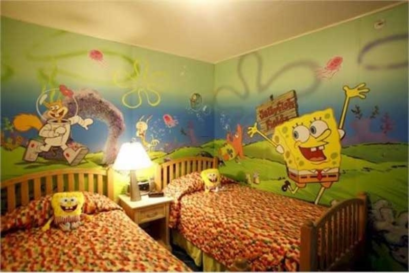 Decorating with fun kids wall art design bookmark 14795 - Childrens bedroom wall painting ideas ...